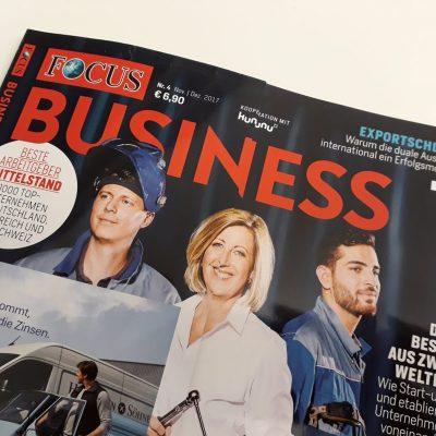 """Vivaldi als """"Top-Arbeitgeber Mittelstand 2018"""" von FOCUS-Business ausgezeichnet"""