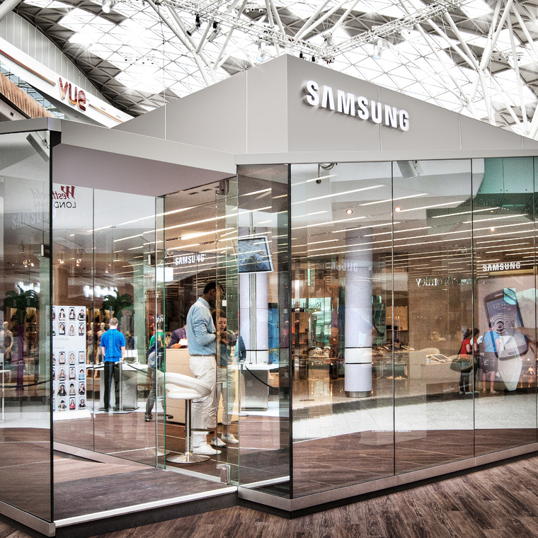 A New Retail Concept: Pinning Samsung on the Map