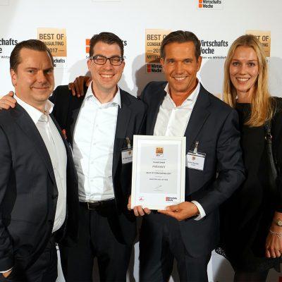 "Expert Jury from WirtschaftsWoche Awards Vivaldi ""Best of Consulting 2017"""