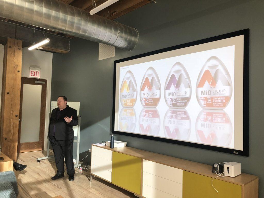 Barry Calpino presenting.